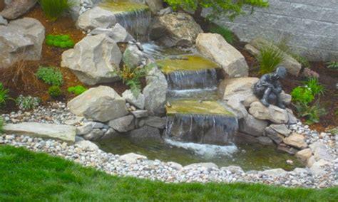 easy backyard pond ideas backyard pond ideas with waterfall easy backyard