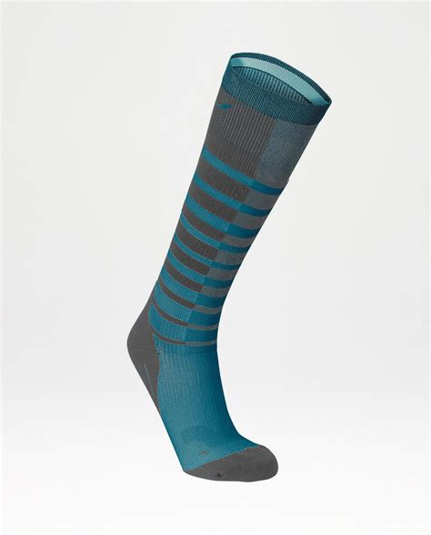 Striped Compression Socks striped run compression socks