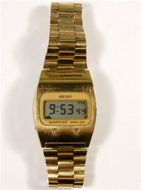 vintage seiko quartz lc digital model 0439 5009