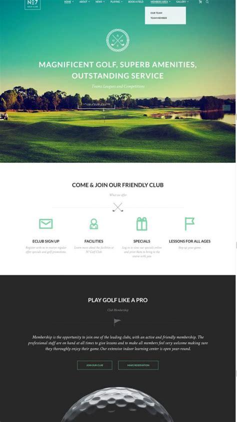 wordpress themes free club 12 best golf wordpress themes for golf clubs golf