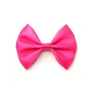 hair bow shocking pink satin hair bow 3 inch bow classic hair bow no
