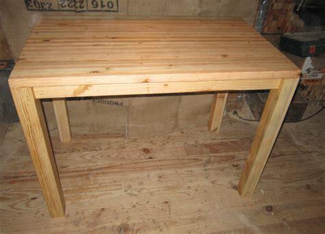 table en bois de cuisine table de cuisine touch du bois