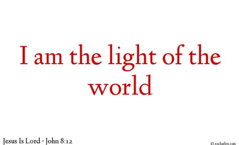 I Am The Light Of The World by I Am The Light Of The World Eocharles