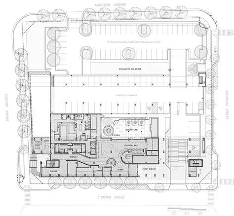 barbershop floor plan layout gallery of hotel indigo surber barber choate hertlein