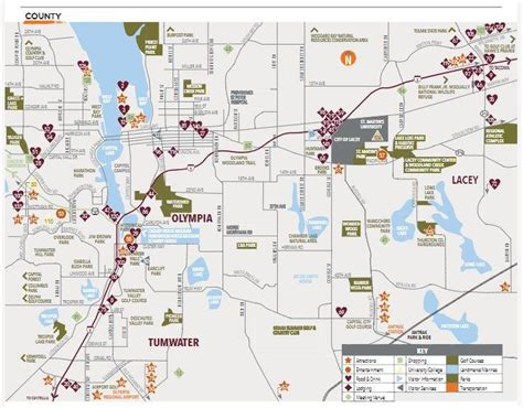 olympia washington map thurston county map explore olympia tumwater