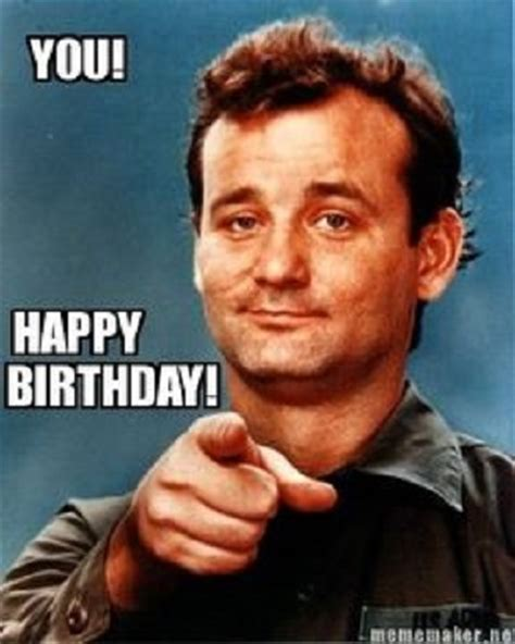 bill murray birthday funny happy birthday meme