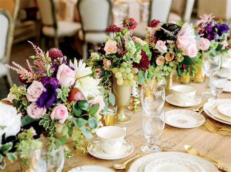 Wedding Reception Flowers Ideas by 10 Ways To Use Florals At Your Wedding Huffpost