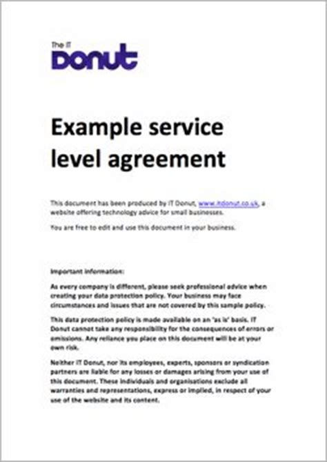 hr service level agreement template 25 best ideas about service level agreement on