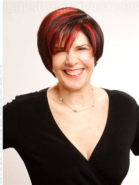 red hair 40s 22 sexy and flattering short hairstyles for women over 40