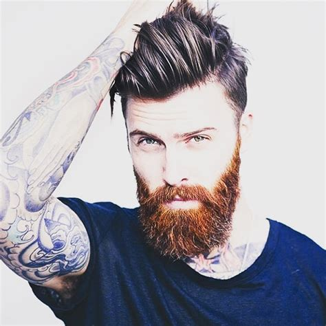 beard length vs hair length best 40 medium length hairstyles and haircuts for men 2015