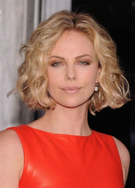 short center parting hair cut jaw length curly bob haircut curly bob haircuts curly