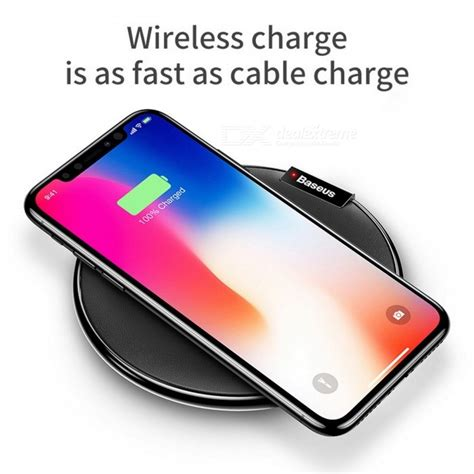 Charger Mobil Fast Charging Samsung baseus qi wireless charging pad fast charge mobile phone