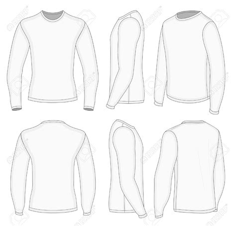 All Six Views Mens White Long Sleeve T Shirt Design Templates Quot 2018 Pyeongchang Winter Sleeve T Shirt Template