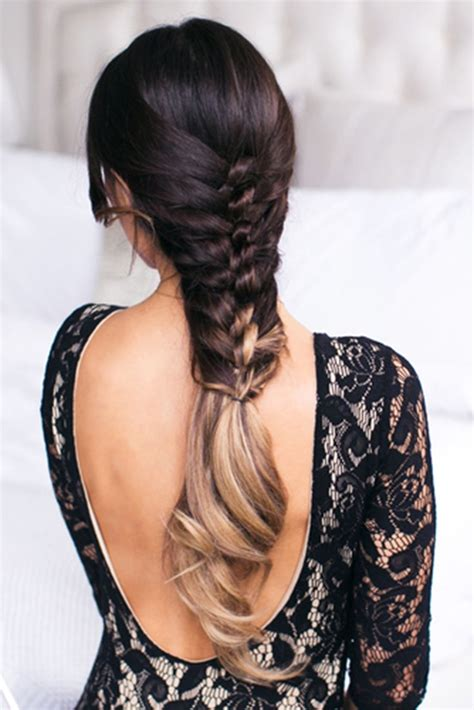 elegant knot hairstyles elegant easy effortless faux knot hairstyle created with
