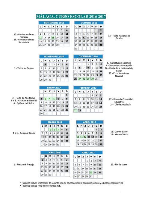 imagenes educativas calendario 2017 calendario escolares 2016 2017 malaga imagenes educativas