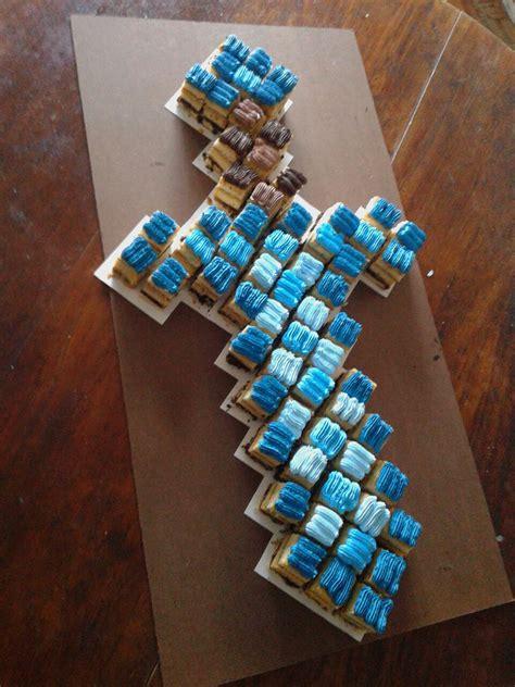pastel decorado minecraft minecraft candy bar cake torta pastel birthday cumplea 209 os
