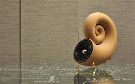 beautiful wooden  printed speakers tct magazine
