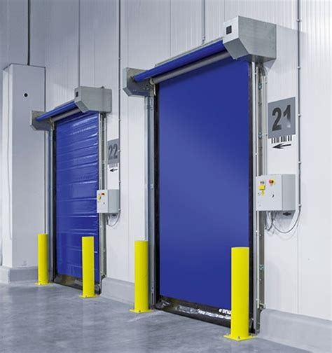 High Speed Roll Up Door by High Speed Roll Up Door For Cold Storage Dynaco M2 Freezer