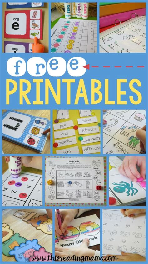 printables for kindergarten centers 1000 images about education tips on pinterest file