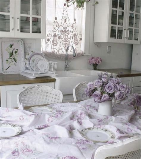 Shabby Chic Cheap Home Decor Cheap Vintage Shabby Chic Style Kitchen Design And Decorating Ideas Home Design Ideas