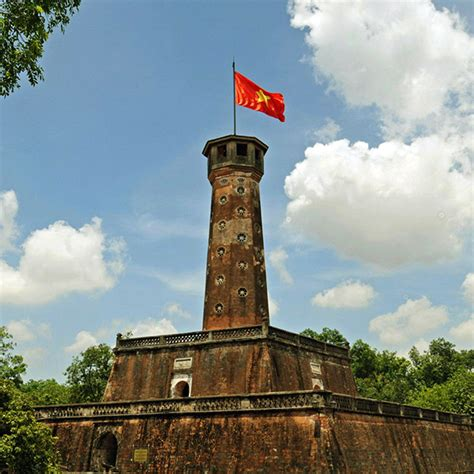 hanoi flag tower imperial citadel of thang long