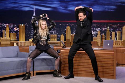 Madonna I Underpants Tonight On The Late Show With David Letterman Mound by Madonna Performs On The Tonight Show With Jimmy