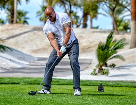 the top 3 public golf dwayne the rock johnson claims to have smashed a 490