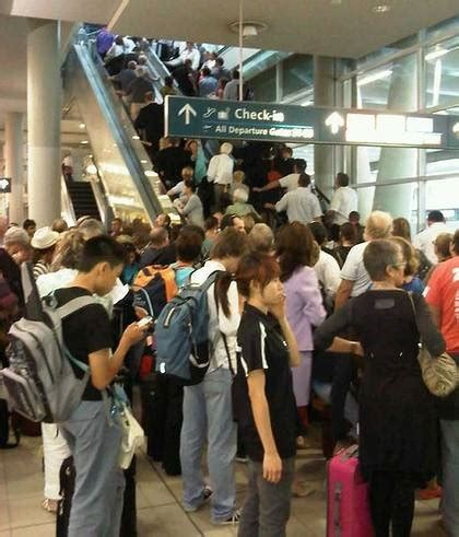 Al Breaches Airport Security by Security Breach At Sydney Airport The Border Mail