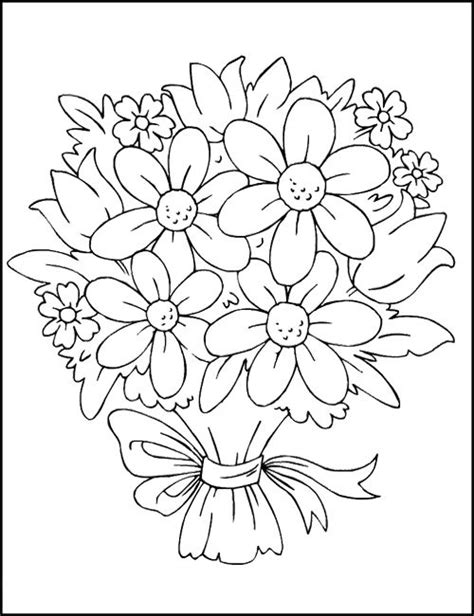 coloring pictures of pretty flowers free coloring pages of pretty flowers