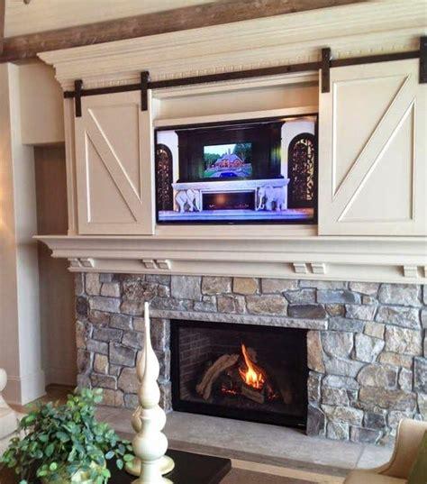 Best 25  Tv over fireplace ideas on Pinterest   Tv above