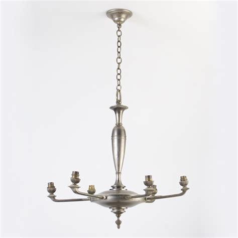 brass light gallery vintage chandelier post moderne 6 light chandelier from