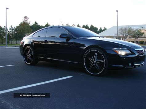 2004 bmw 645ci sport package pano roof 22 quot wheeels and tires