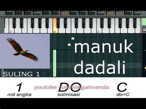 download mp3 gratis dadali bintang solmisasi not angka lagu manuk dadali youtube