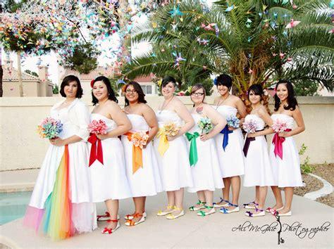 Wwww Wedding by Rainbow Wedding Bridesmaids Dress Www Pixshark