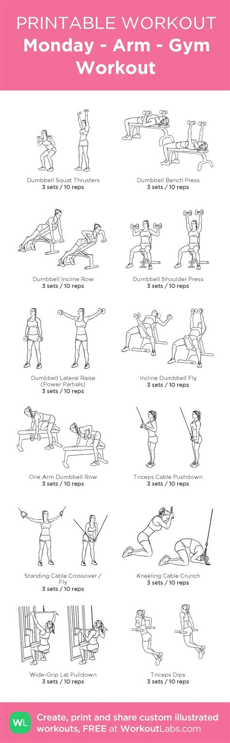 printable exercise images we all have to start somewhere workout plan for