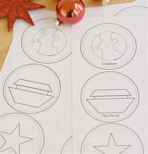 printable jesse tree ornaments free printable jesse tree ornaments for coloring elizabeth clare