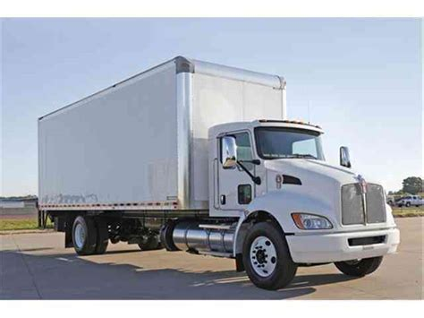 kenworth trucks 2017 kenworth t370 2017 van box trucks