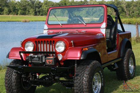 Jeep Restoration 1984 Jeep Cj7 Diesel Frame Restoration