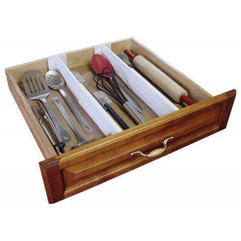 Kitchen Drawer Organizer Kitchen Drawer Dividers B1601w 17 99 Morestorage