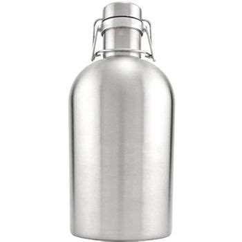 swing top growlers stainless steel swing top growler single wall 64 oz