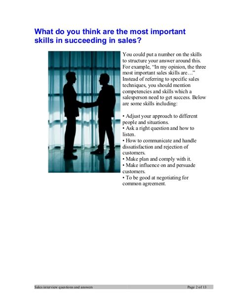 Manager Questions And Answers by Sales Manager Questions And Answers