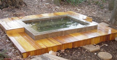 how to make your own bathtub home design ideas build a hot tub surround deck platform