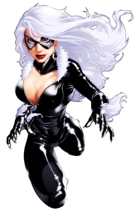 black cat marvel marvel series spiderman character black cat felicia
