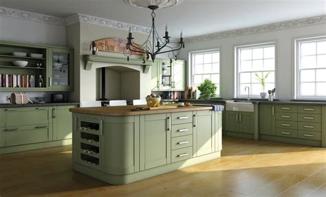 Painted Kitchens Dublin Fitted Kitchens Bespoke Kitchens Green Kitchen Furniture