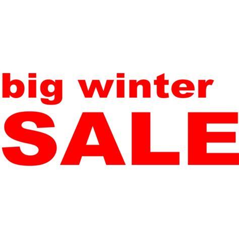 Folienbeschriftung F R Schaufenster by Folienbeschriftung Quot Big Winter Sale Quot 70 Cm Lang Farbe Rot