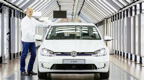 E Auto Förderung by Vw E Golf Mit 300 Km Und Produktion In Dresden