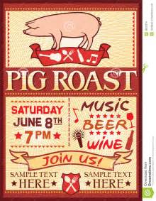 pig roast invitation templates cloudinvitation com