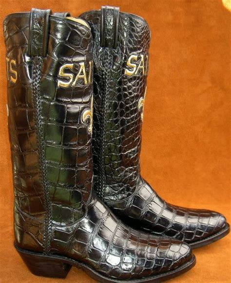 Handmade Alligator Boots - made sports team alligator boots by ghost rider boots