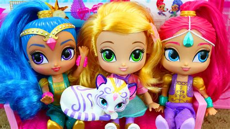 shimmer and shine l shimmer shine doll plays a wish granting