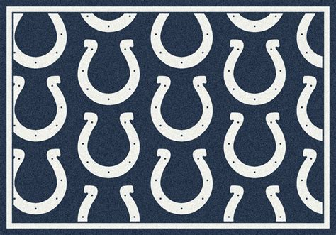 Team Rugs by Milliken Nfl Repeat 09041 Indianapolis Colts Team Area Rug